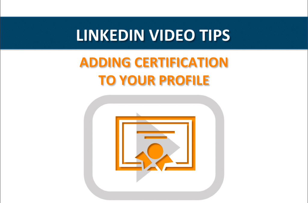 LinkedIn Video Tips: How to Add Credentials to Your Profile Name